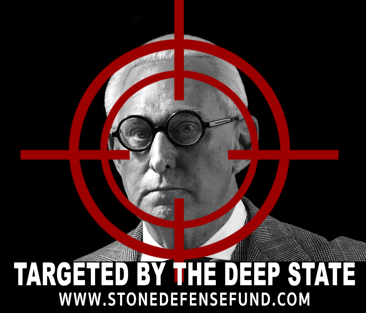 Image: Roger Stone: Deep State plans to remove POTUS Trump, VP Pence, to install Pelosi and Hillary in COUP