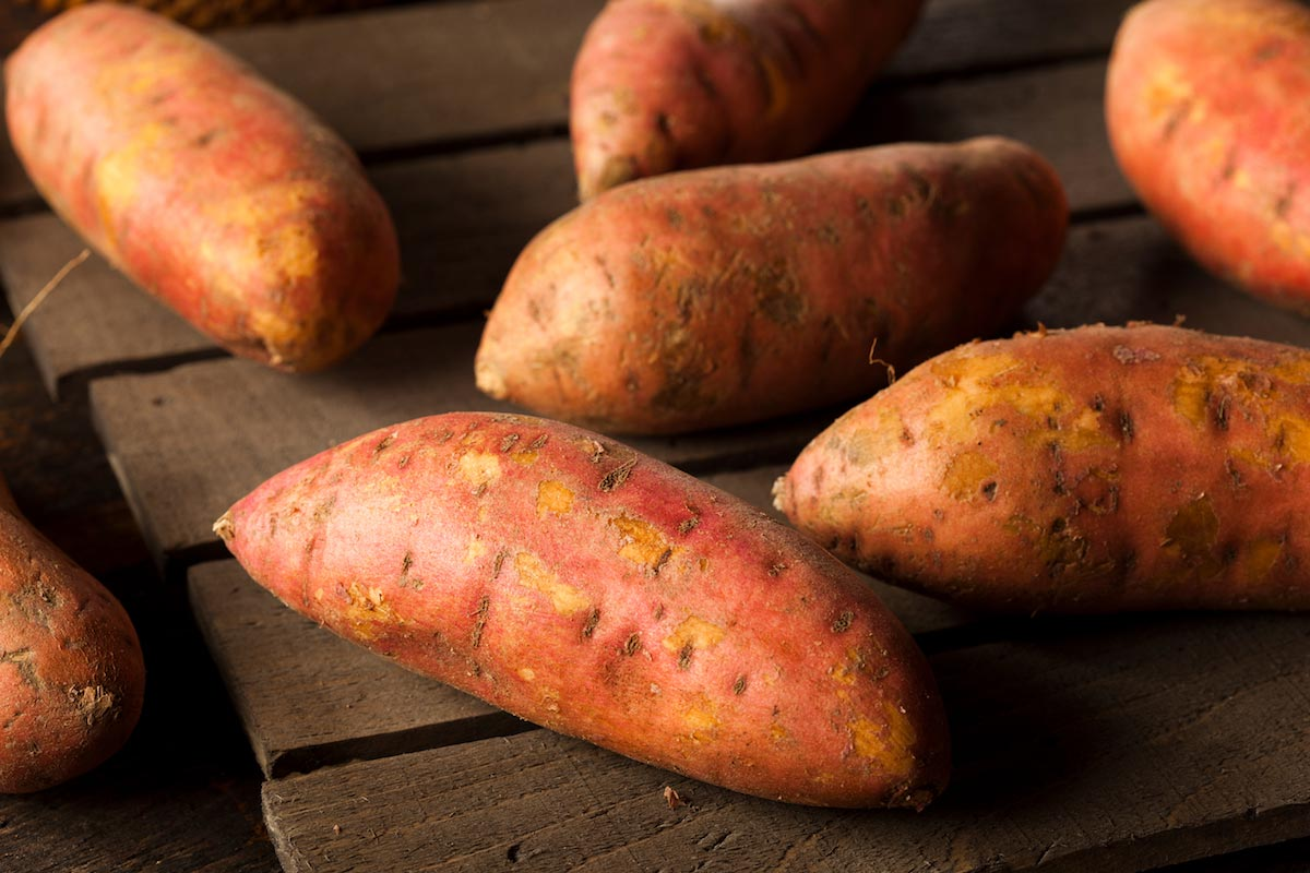 Image: The health benefits you receive when you eat more sweet potatoes
