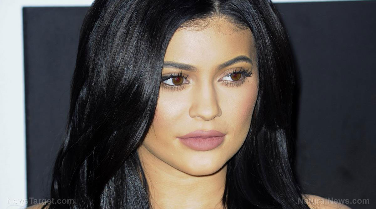 Image: Kylie Jenner became a billionaire by poisoning youth with toxic lipstick ingredients, say critics