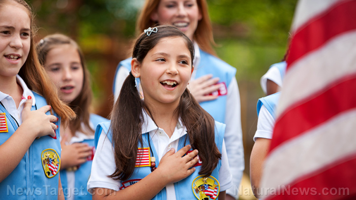 Image: Girl Scouts now celebrating young girls who push abortion, oblivious to the fact that HALF of all abortions are baby girls