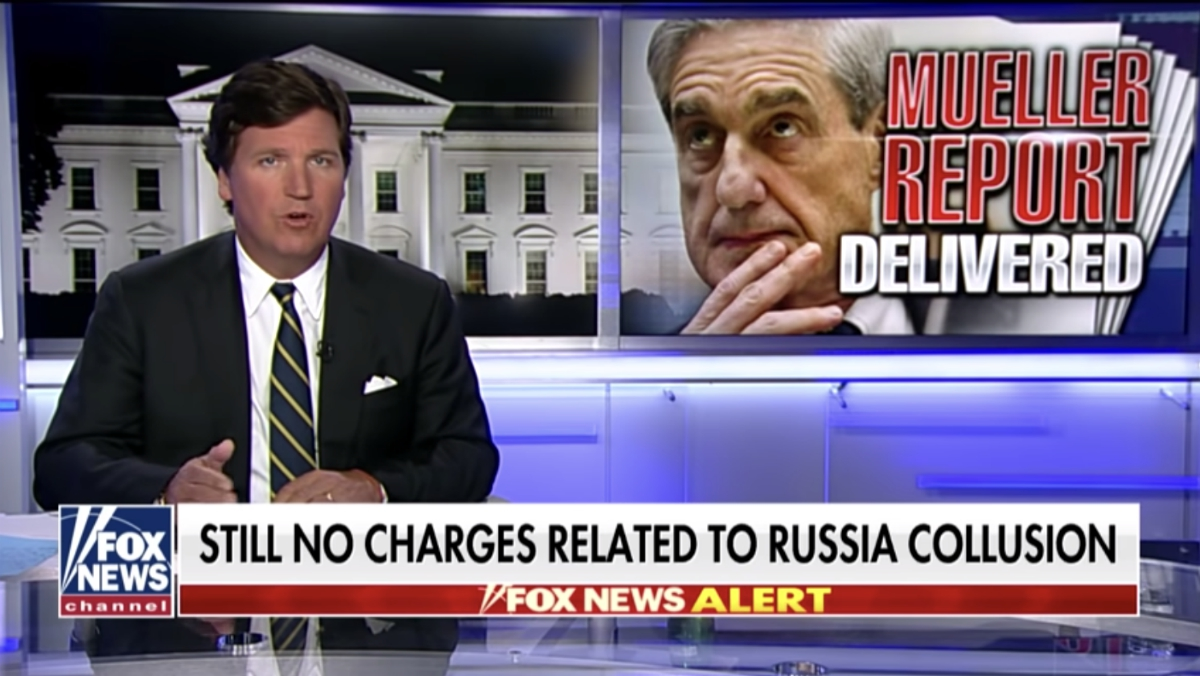 "Image: It WAS a hoax! No finding of ""Russian collusion"" in Mueller investigation proves there really was a Deep State plot to depose POTUS Trump"