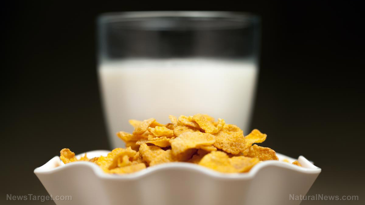 Image: It's still junk food: Experts warn that milk and cereal can negatively affect the blood sugar of individuals with diabetes