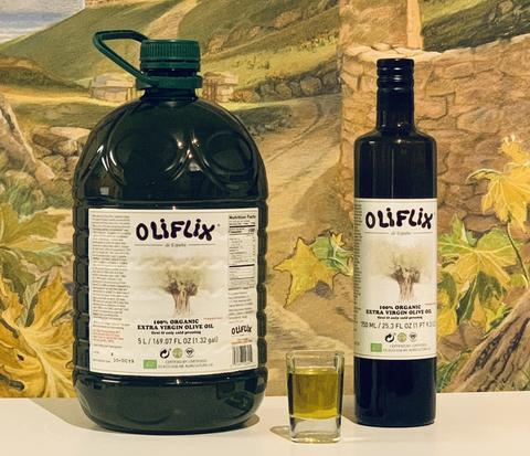 "Image: Former Rawesome Foods founder James Stewart launches ""Oliflix"" premium organic olive oil imported from Spain"