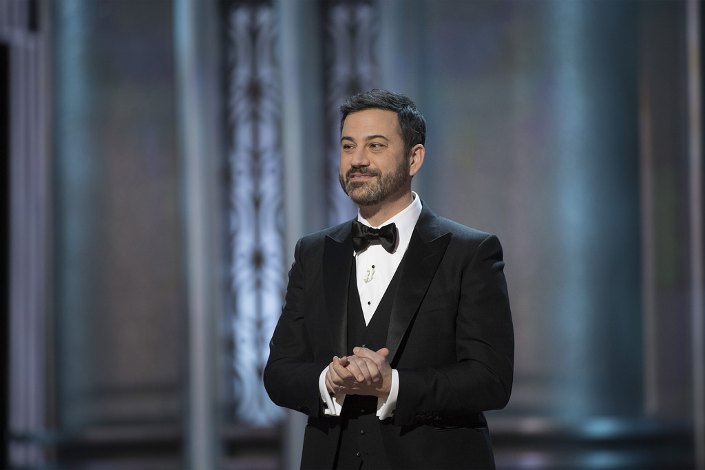 Image: Late-night HATE monger Jimmy Kimmel mocks man who was sexually abused by Hollywood Executive