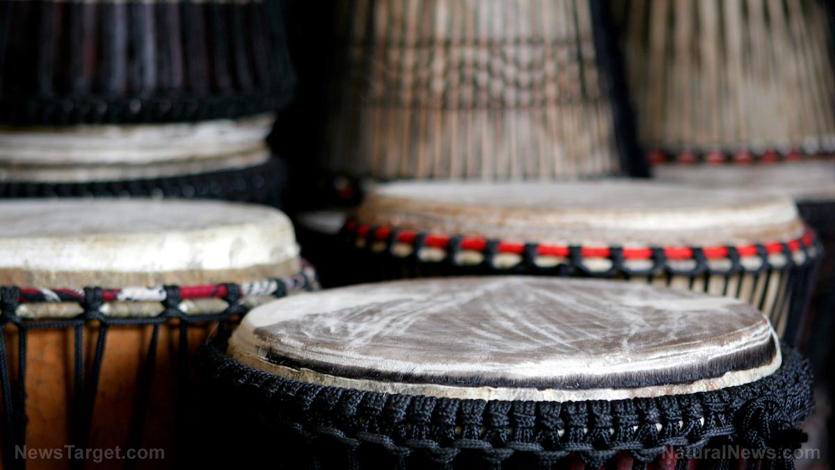 Image: Drumming has multiple health benefits for the body, mind, and soul