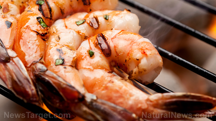 Image: Shocking cocktail of toxic chemicals and pesticides found in the global shrimp supply