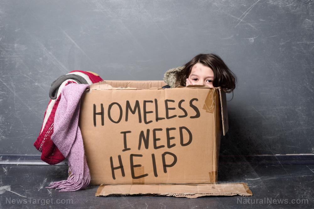 Image: California's wealthy elite finally facing their day of reckoning as liberal policies leave surge of homeless people, used needles and human feces on their doorstep