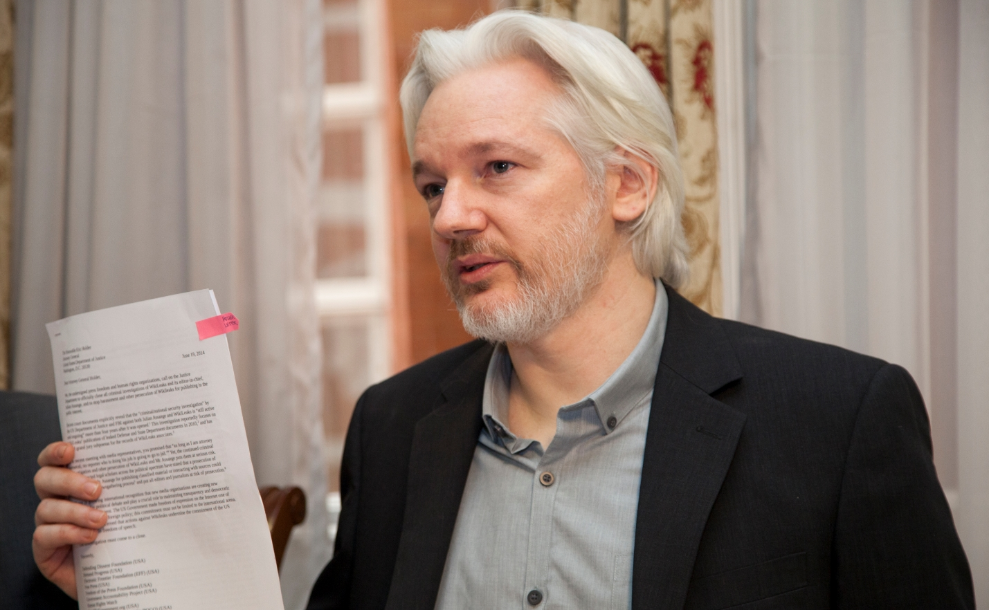 Image: How many times must Assange be proven right before people start listening?