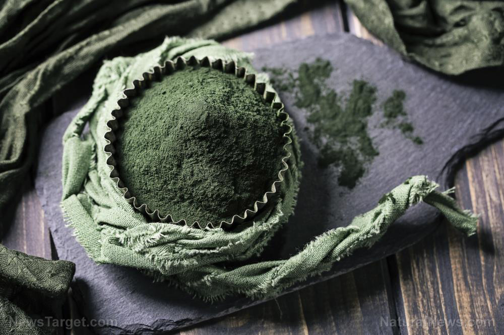 Image: Research finds spirulina lowers blood pressure