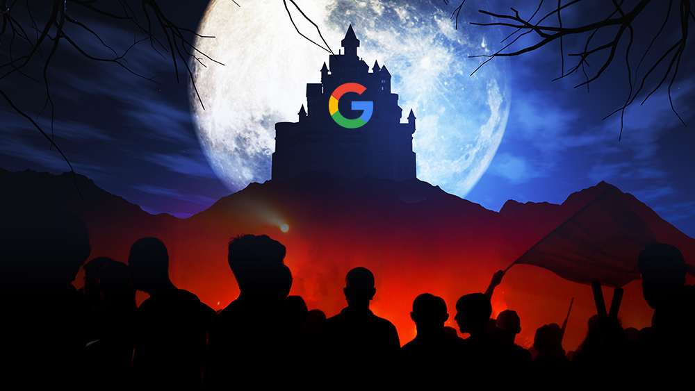 Image: Google culture dominated by witch hunts against conservatives, warns engineer… total obedience to lunatic left now demanded of everyone