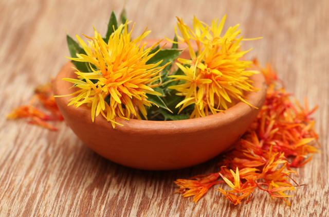 Image: The pharmacology and phytochemistry of Carthamus tinctorius L. (safflower)