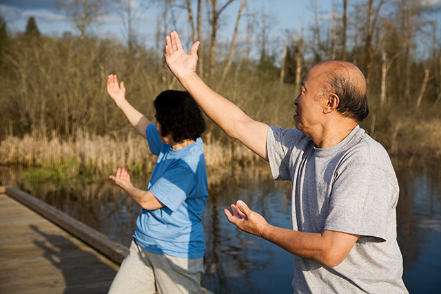 Image: Improve your balance with tai chi
