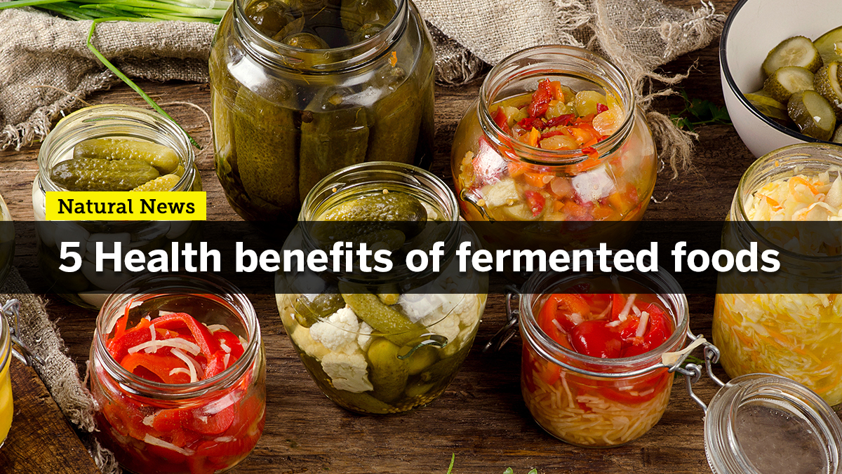 Image: Regularly eating fermented foods can provide incredible health-promoting benefits