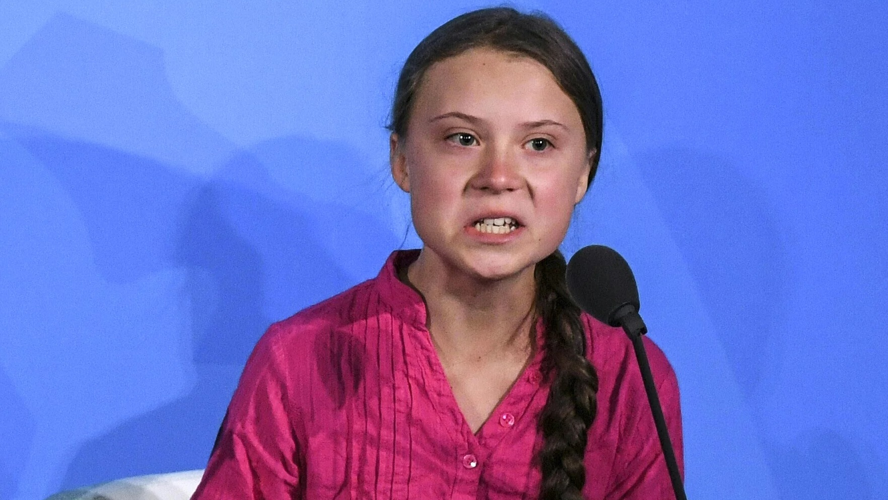 Image: Greta the hysterical climate teen has filed a formal complaint with the U.N. over climate change – who's scripting all this?