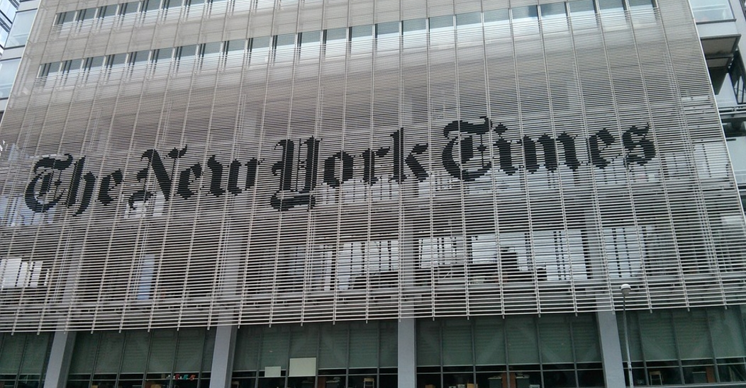 Image: The NYTimes has a racism and bigotry problem as yet another editor outed for anti-Semitic statements