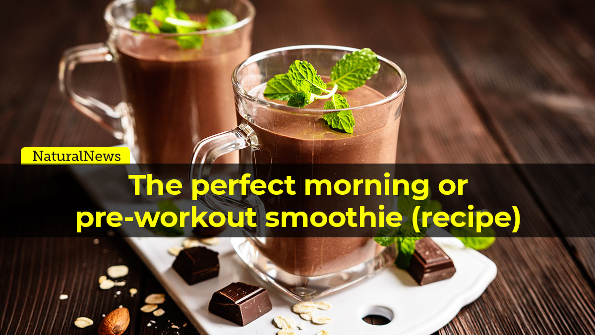 Image: The perfect morning or pre-workout smoothie (recipe)