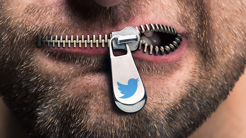 Image: Twitter accelerates BAN of independent journalists as Big Tech's war on truth goes on steroids