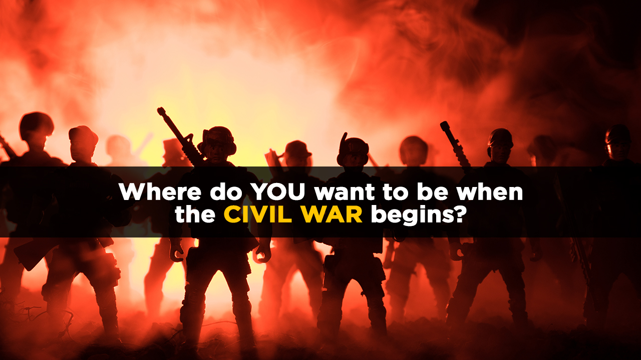 Image: Americans will soon be forced into a guerrilla war of survival – Can America win against the globalist occupation forces?
