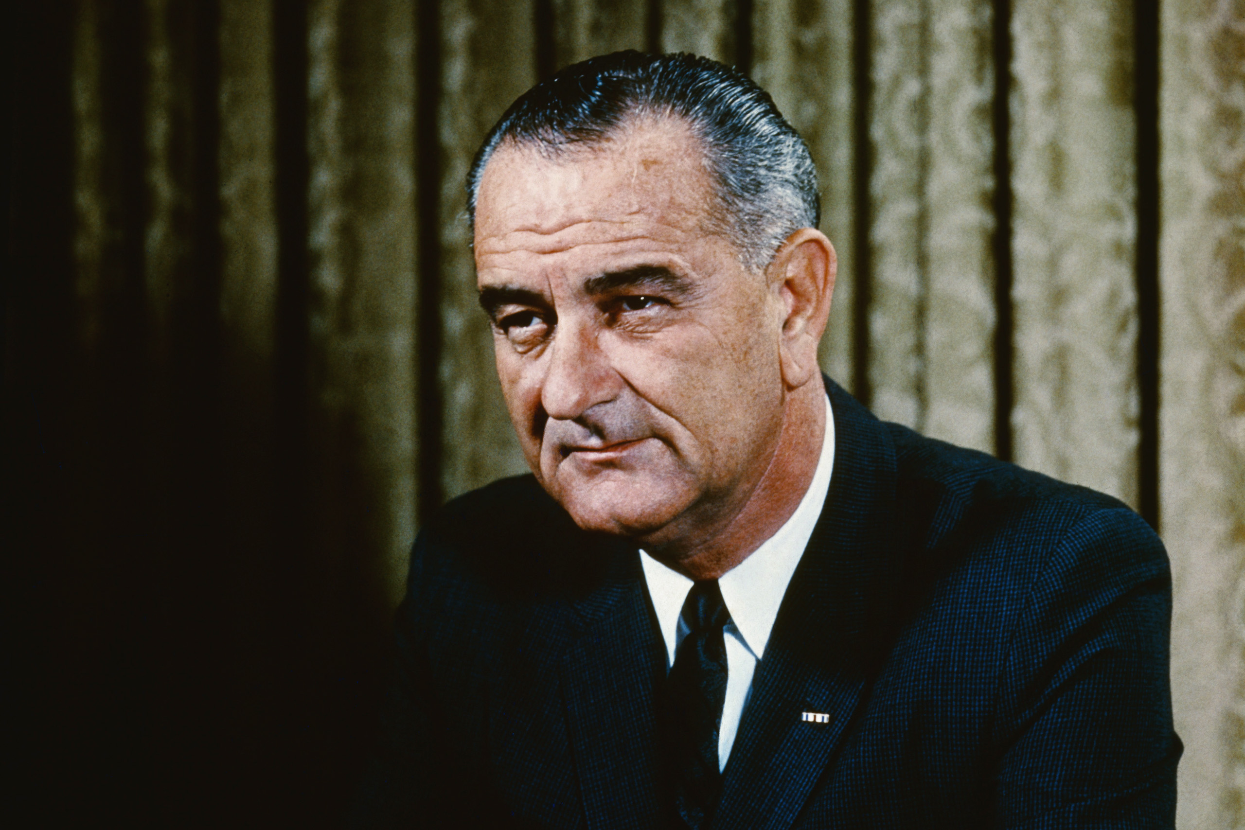 Image: Newly released JFK files reveal Democrat President Lyndon Johnson was a member of the KKK, which was run by Democrats