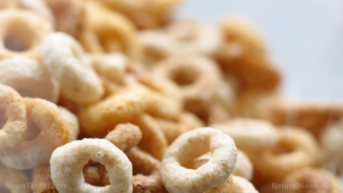 Image: Latest round of tests confirms that Cheerios and other children's cereals are contaminated with Roundup