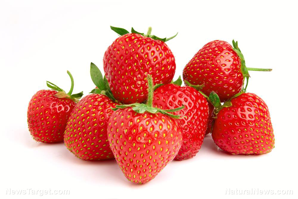 Image: Study: Consuming more strawberries can help prevent Alzheimer's in the elderly
