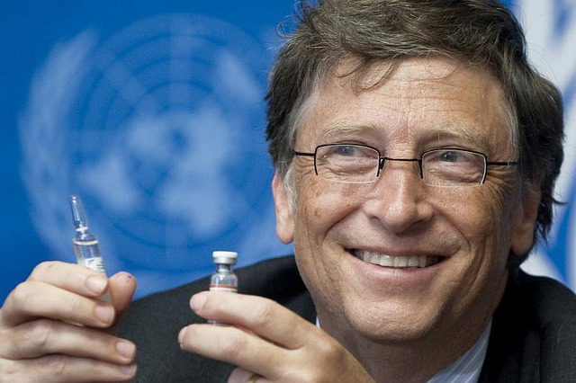 "Image: Eugenicist Bill Gates co-hosted a ""high-level pandemic exercise"" back in October, just in time for the patented coronavirus he helped fund to be unleashed"