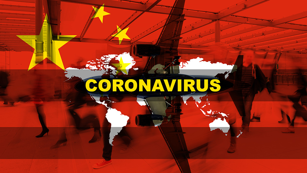 "Image: China launches biological warfare agenda; covertly infiltrates Wuhan evacuation plane with ""Trojan horse"" carrier of the coronavirus to infect all passengers headed to Taiwan"