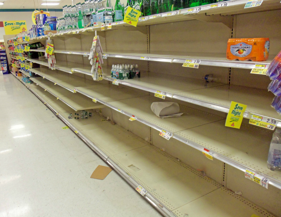 Image: America's food system in shambles in the wake of the coronavirus pandemic