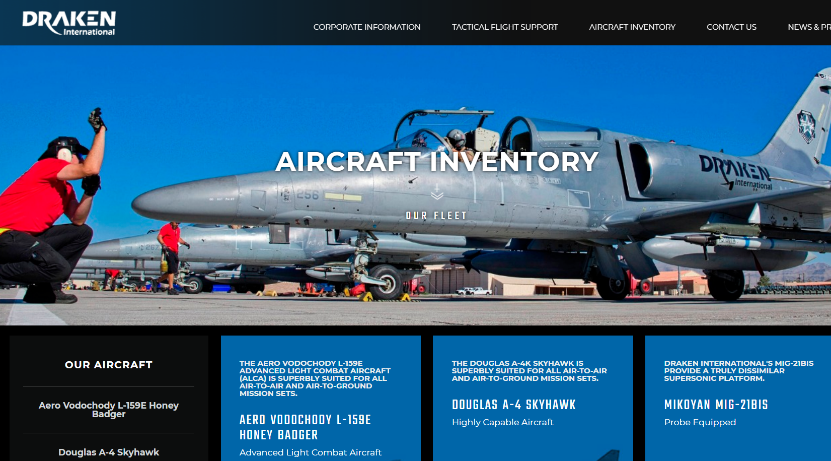 "Image: EXCLUSIVE: Private company offering ""contract air support"" using military jet fighters located in Lakeland, FL where live air-to-air missile was just found"