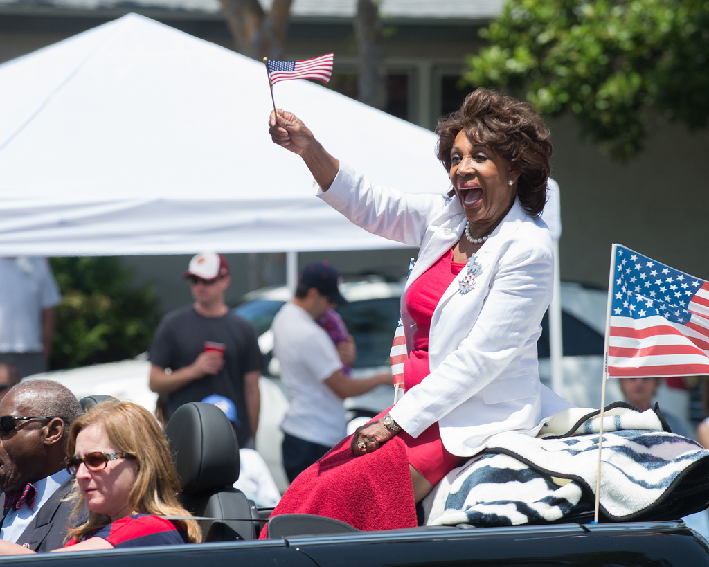 Image: FLASHBACK: As rioting, looting, and violence plague American cities, never forget it was DEMOCRATS like Maxine Waters who called for it