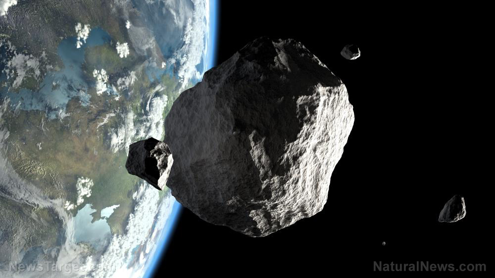 "Image: Study suggests ""space dust"" from a giant asteroid caused the Ice Age 466 million years ago"