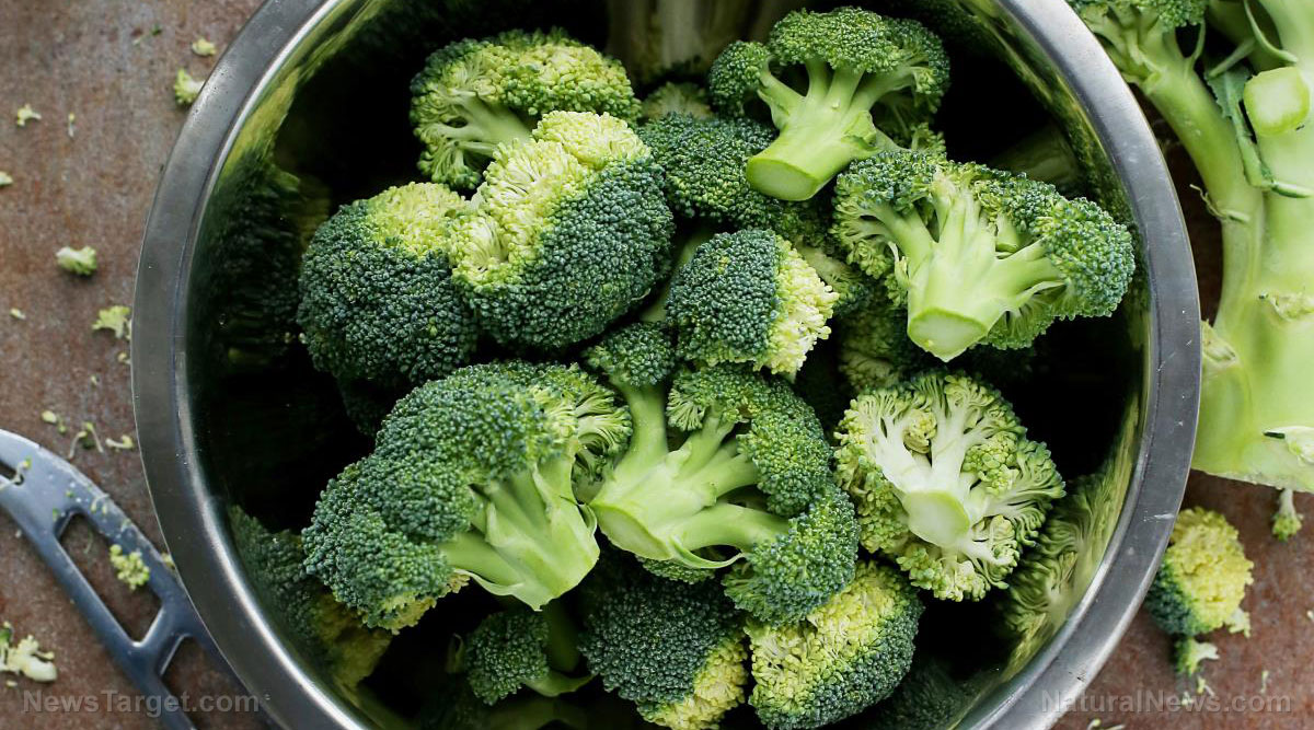 Image: Observing changes in phytochemical content and antioxidant activity of developing broccoli florets