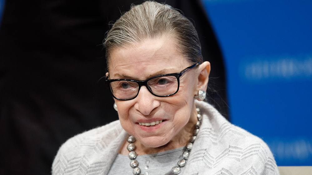 Image: Same leftists destroying historical statues want to erect bust of Ruth Bader Ginsburg in Capitol Rotunda celebrating her contributions to abortion, pedophilia