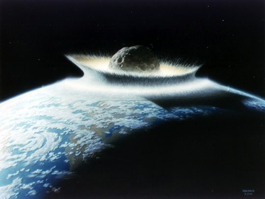 "Image: Asteroid impact triggered the ""impact winter"" that likely killed dinosaurs 66 million years ago – study"