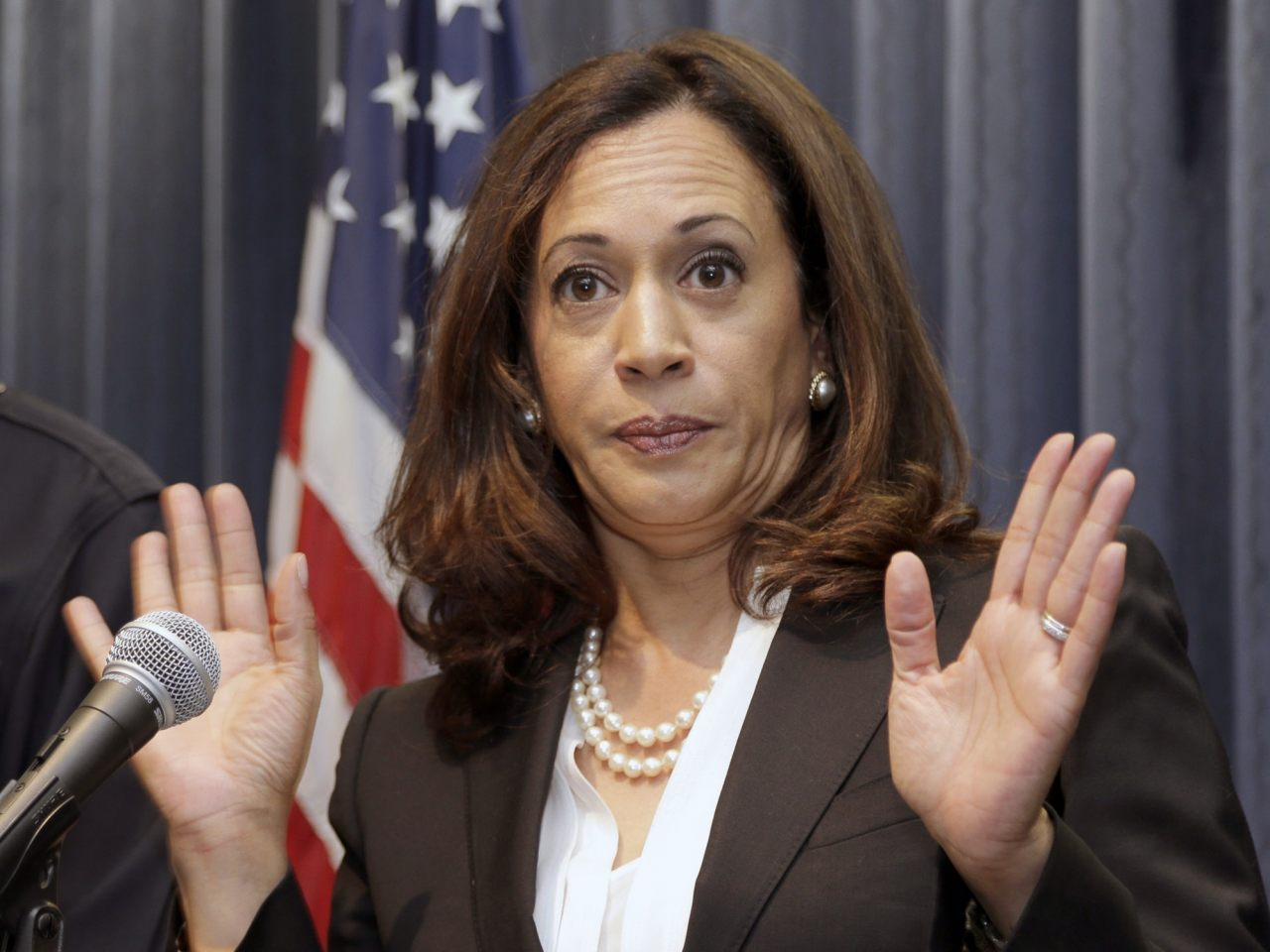 Image: Democratic VP candidate Kamala Harris kept hundreds of men in prison for cheap labor – pictures make up her mosaic