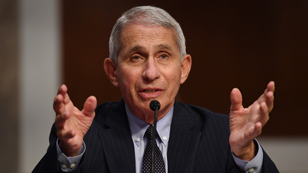 Image: Don't want a warp speed vaccine? Fauci says you're a threat to public health