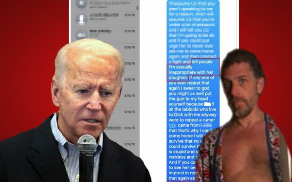 Image: Hunter Biden colluded with Russia to enrich his family's coffers