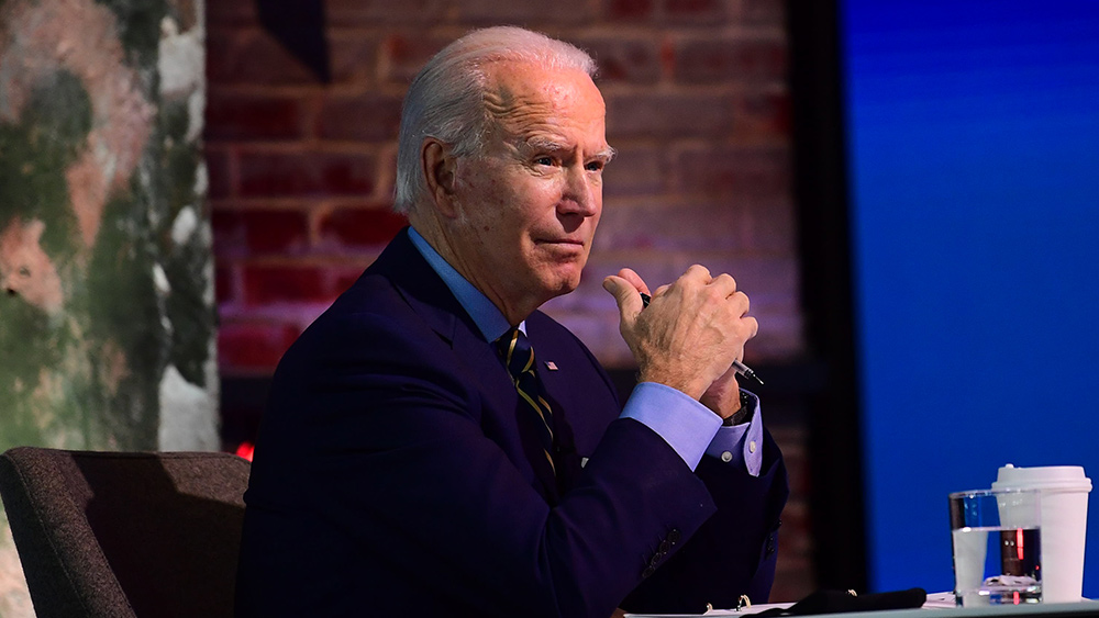 Image: 'Don't dare call them protesters': Joe Biden brands Capitol Hill rioters 'domestic terrorists'