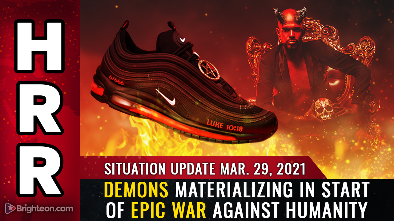 Image: Situation Update, Mar 29: Demons MATERIALIZING in start of epic WAR against humanity