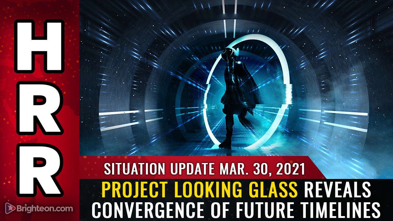 Image: Situation Update, Mar 30th, 2021 – Project Looking Glass reveals future timelines converging into mass AWAKENING and the defeat of evil