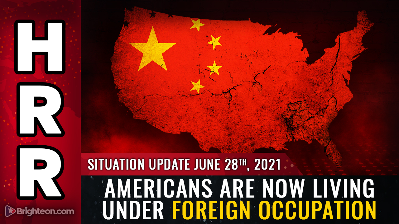 Image: With the CCP now controlling everything, Americans are living under foreign ENEMY occupation